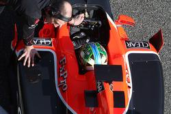 Lucas di Grassi, Virgin Racing, detail