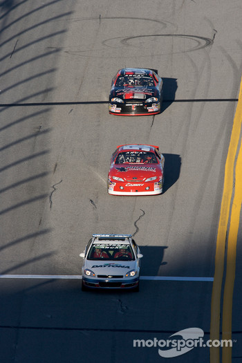 Pace car leads James Buescher