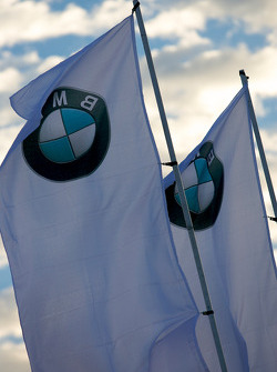 BMW Rahal Letterman Racing Team flags