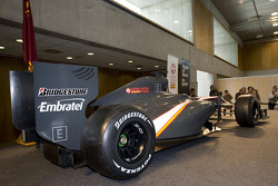 The HRT F1 car
