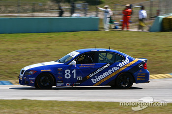 #81 BimmerWorld/GearWrench BMW 328i: Bill Heumann, Seth Thomas