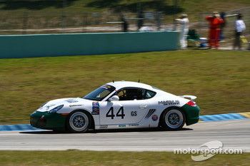 #44 Magnus Racing Porsche Cayman: John Potter, Bryan Sellers