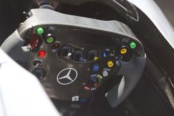 McLaren steering wheel