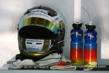 Helmet of Adrian Sutil, Force India F1 Team