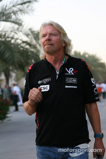 Sir Richard Branson, Chairman of the Virgin Group