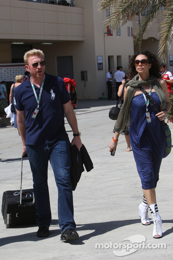 Boris Becker and his wife Sharlely Becker-Kerssenberg