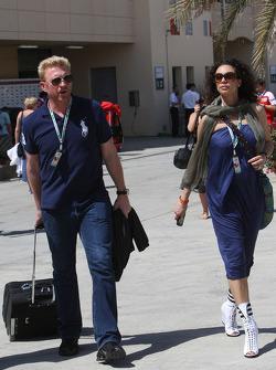 Boris Becker and his wife Sharlely Becker-Kerssenberg