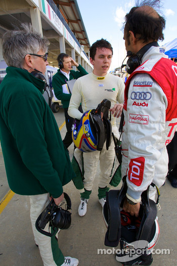 Paul Drayson, Jonny Cocker and Emanuele Pirro