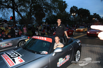 Pre-event party: Graham Rahal, Sarah Fisher Racing