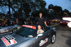 Pre-event party: Graham Rahal, Sarah Fisher Racing
