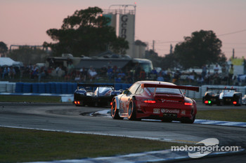#45 Flying Lizard Motorsports Porsche 911 GT3 RSR: Jorg Bergmeister, Patrick Long, Marc Lieb