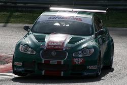 #40 Ferlito Motors Jaguar XF SV8: Matteo Cressoni