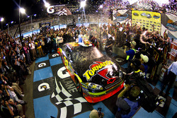 Victory lane: race winner Ryan Newman, Stewart-Haas Racing Chevrolet celebrates