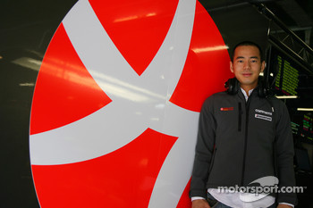 Sakon Yamamoto Hispania Racing F1 Team Test and Reserve Driver