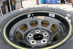 David Ragan's left front Goodyear Racing Eagle