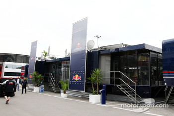 Toro Rosso and Red BUll Racing Hospitality