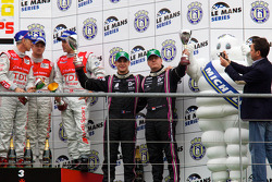 LMP1 podium: Michelin Green X Challenge Richard Hein and Guillaume Moreau