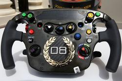 Lewis Hamilton, McLaren Mercedes Monaco editiion steering wheels with Steinmetz Diamonds