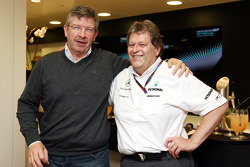 Ross Brawn Team Principal, Mercedes GP, Norbert Haug, Mercedes, Motorsport chief