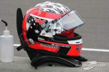 Helmet for Will Power, Team Penske