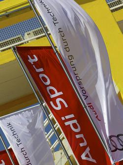 Audi Sport flags