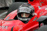 Marco Andretti, Andretti Autosport waits to qualify