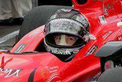Marco Andretti, Andretti Autosport waits to qualify