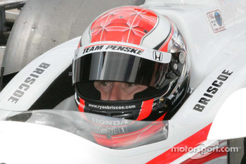 Ryan Briscoe, Team Penske waits to qualify