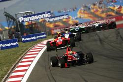 Rio Haryanto leads Miki Monras and Nico Muller