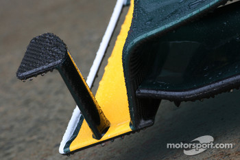 Lotus F1 Team front wing detail