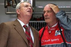 VAG voorzitter Martin Winterkorn en Dr. Wolfgang Ullrich