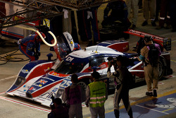 Pit stop for #25 RML Lola HPD Coupe: Mike Newton, Thomas Erdos, Andy Wallace