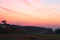 #97 BMS Scuderia Italia Porsche 911 GT3 RSR: Marco Holzer, Richard Westbrook, Timo Scheider, #8 Audi Sport Team Joest Audi R15: André Lotterer, Marcel Fässler, Benoit Tréluyer