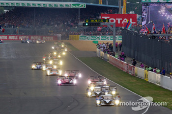 Start of 2010 24 Hours of Le Mans