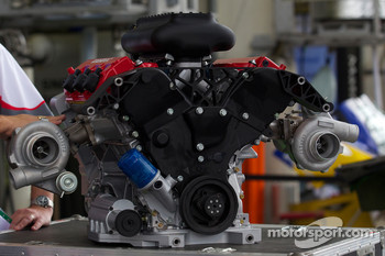2011 Honda engine for the new LMP1 category, a 2.6-liter V-6 twin turbo