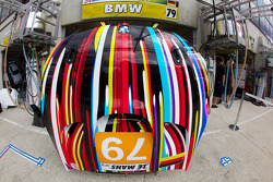 #79 BMW Motorsport BMW M3 front hood