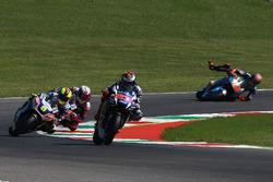 Jorge Lorenzo, Yamaha Factory Racing, Tito Rabat, Marc VDS Racing crashes