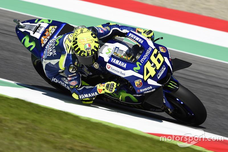 Italien, Mugello: Valentino Rossi (Yamaha)