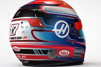 Formula 1 Foto - Romain Grosjean, casco triuto a Jules Bianchi per il Gp di Monaco