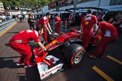Ferrari SF16-H in the pit lane