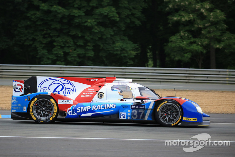 17. LMP2: #37 SMP Racing, BR01 Nissan