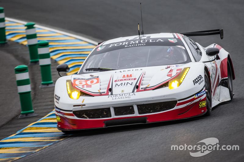 LMGTE Am: #60 Formula Racing, Ferrari 458 Italia