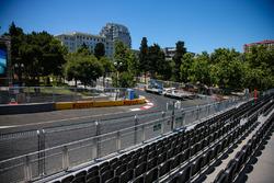 Baku City Circuit at turn 12