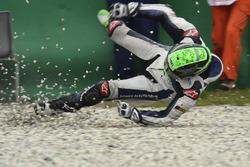 Unfall: Eugene Laverty, Aspar MotoGP Team
