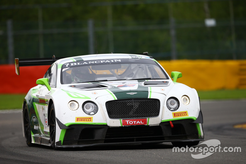 18. #7 Bentley Team M-Sport, Bentley Continental GT3: Guy Smith, Vincent Abril, Steven Kane