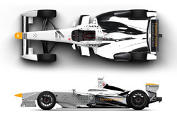 Dragon Racing livery unveil