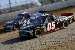 Kyle Larson, GMS Racing, Chevrolet; Brady Boswell, Athenian Motorsports, Chevrolet