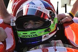 2013 IndyCar test Barber M. P.