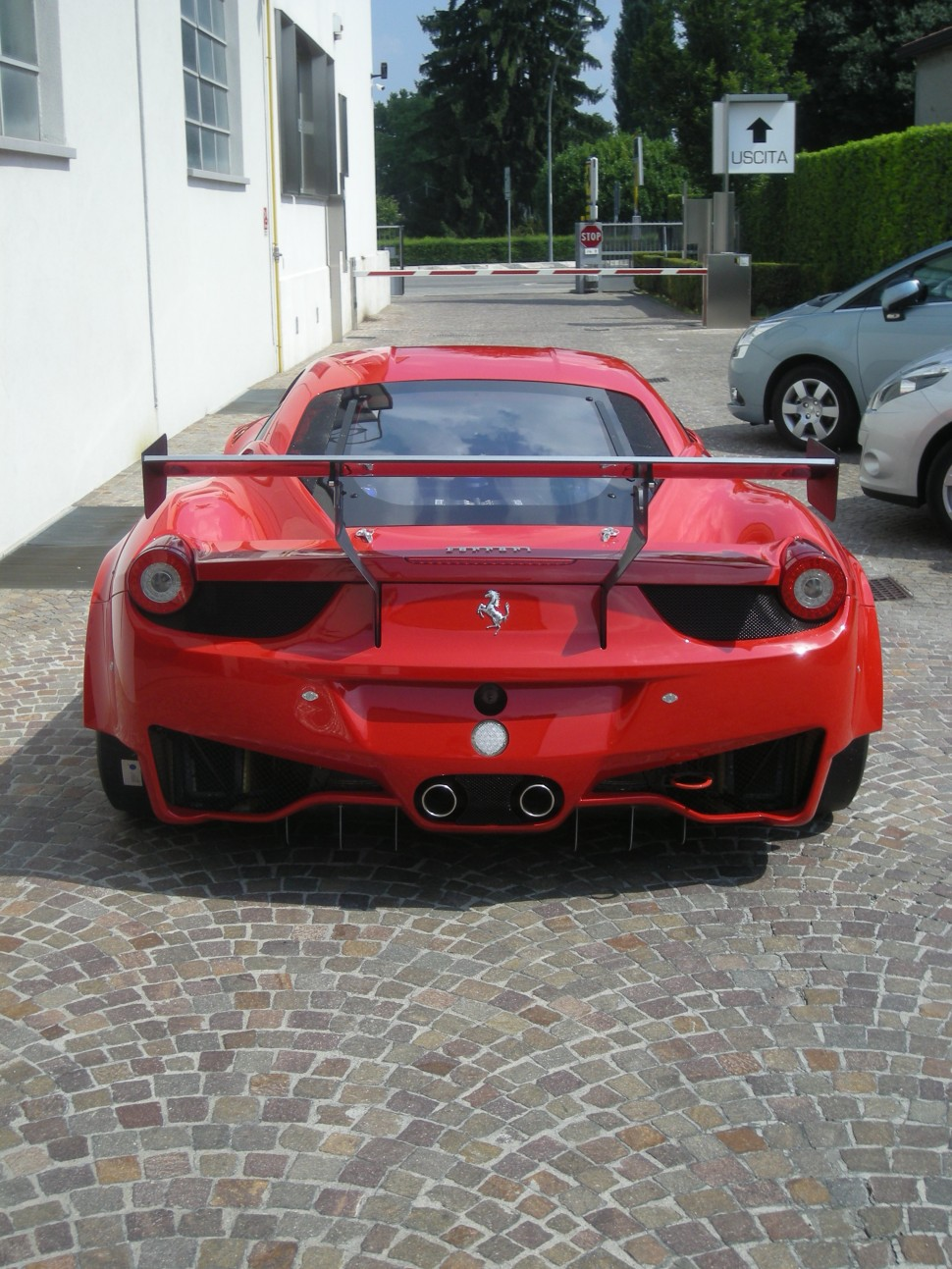 New Ferrari 458 GT