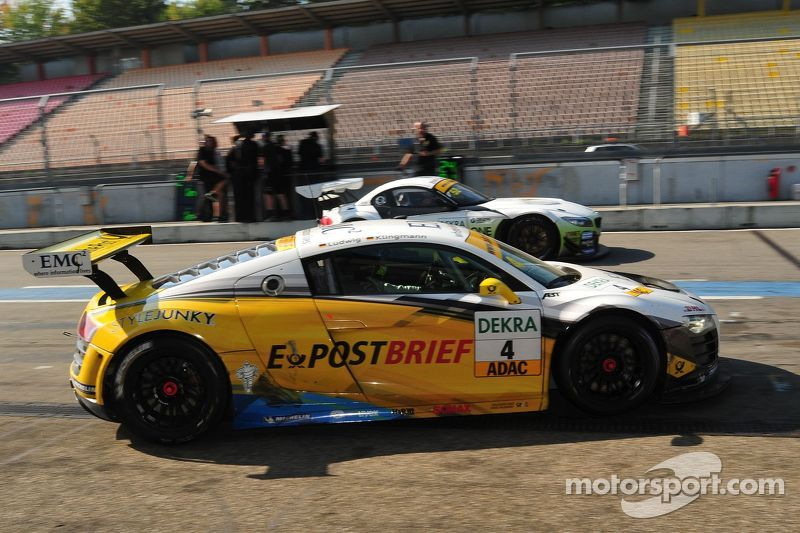 ADAC GT Masters Race 2 - Klingmann / Ludwig leaving the pit